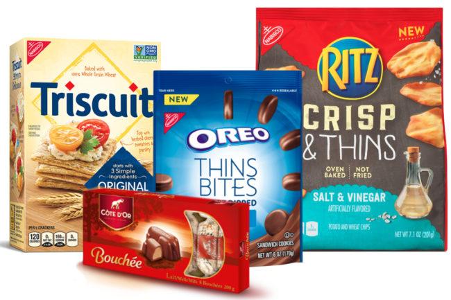 Mondelez snack brands