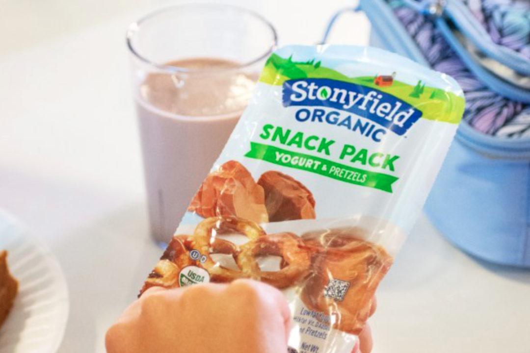 Stonyfield Organic snack packs