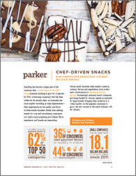 Parker-Products_whitepaper_Chef-Driven-Snacks_Oct2017
