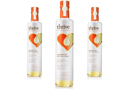Algawise Thrive culinary algae oil, TerraVia, Solazyme