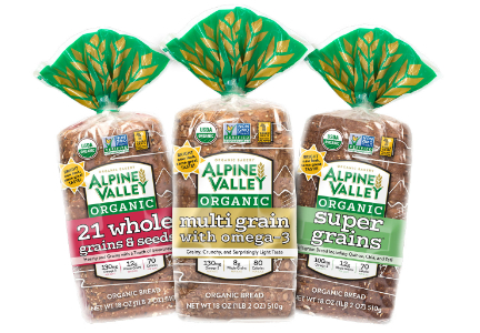 Alpine Valley bread