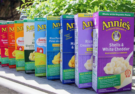Annie's macaroni and cheese, General Mills
