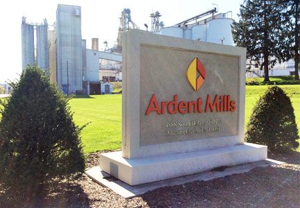 Ardent Mills sign