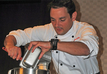 Daniel Marciani, executive development chef for Ardent Mills