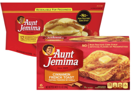 Pinnacle Foods Aunt Jemima frozen pancakes, waffles, French toast
