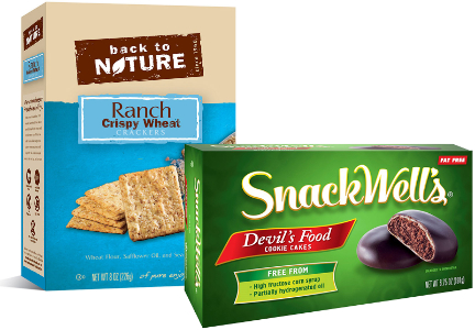Back to Nature, Snackwell's, B&G Foods