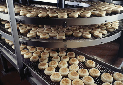Bakery production facility
