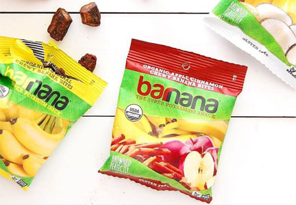 Barnana banana snacks