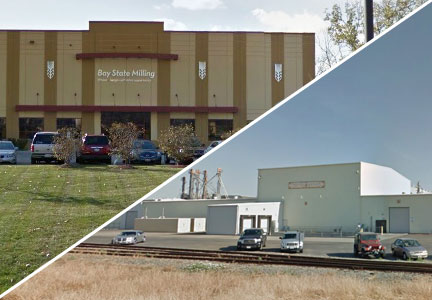 Bay State Milling Co. Non GMO Project verified facilities in Bolingbrook, Illinois and Woodland, California