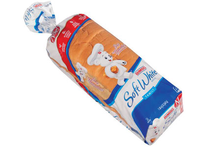 Bimbo Bakeries USA loaf of white bread