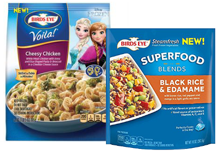 Pinnacle Foods new Birds Eye vegetable products