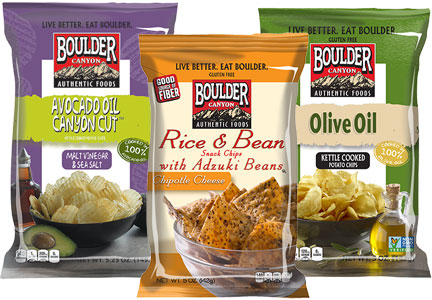 Boulder Canyon chips, Inventure Foods
