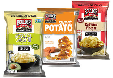 Boulder Canyon snacks, Inventure Foods