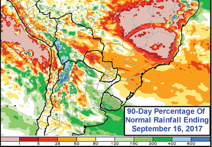 Brazil traders, farmers nervous over persistent lack of rainfall