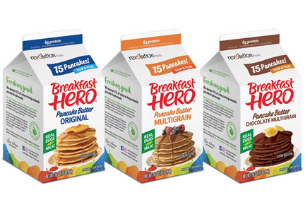 Breakfast Hero pancake batter, Revolution Foods