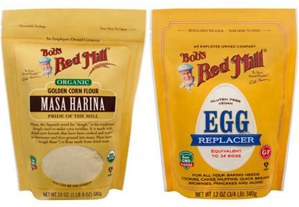 Bob's Red Mill Masa Harina and Egg Replacer