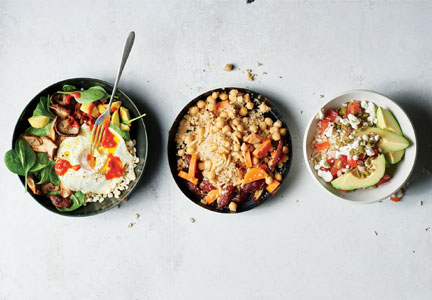 Build your own grain bowl
