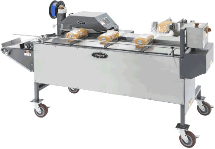 Burford's Entry Level Tyer System help automate the tying process for smaller bakeries.