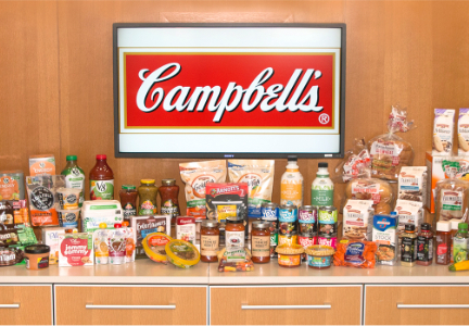 Campbell Soup product lineup