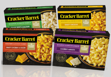 Kraft Heinz Cracker Barrel Oven Baked Macaroni and Cheese