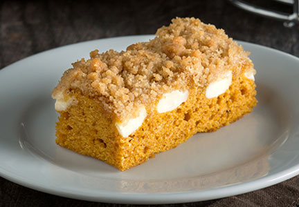 Hill Country Bakery Coffee House Cafe pumpkin cake