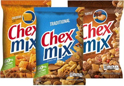 Chex Mix varieties