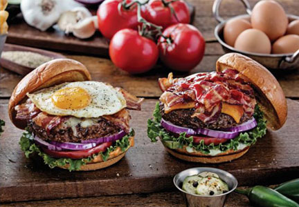 Chili's grass-fed burgers