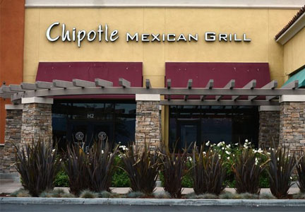 Chipotle in Simi Valley, Calif.