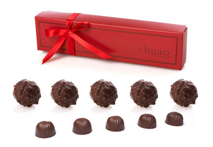 Chuao chocolate truffles and bon bons