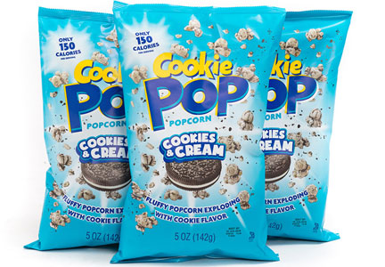 Cookie Pop Popcorn, Perfect Snax Prime
