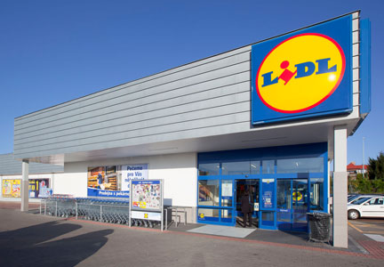 Lidl discount grocery store