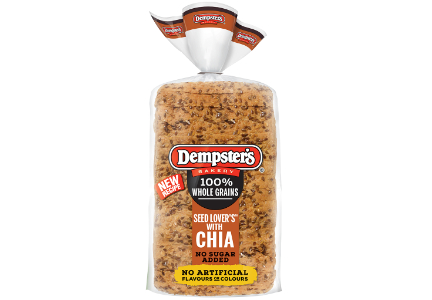 Dempster's 100% Whole Grain Seed Lover's Bread with CHIA