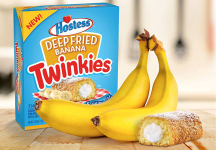 Deep Fried Banana Twinkies, Hostess