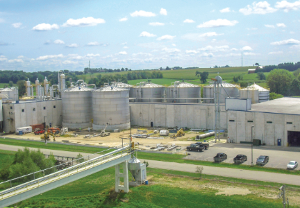 Didion Milling's corn mill in Cambria, Wisconsin, U.S. pictured in 2012. Photo courtesy of Didion Milling.