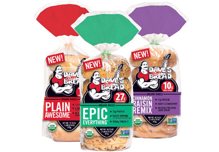 organic plain bagel with Daves Killer Bread Forges Into on 5 Easy School Lunch Ideas besides Greek Nachos With Feta Yogurt Sauce in addition  furthermore 10 Minutes Suhoor Recipes also Daves Killer Bread forges into.