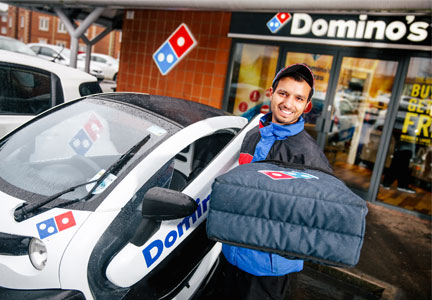 Domino's pizza delivery