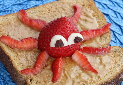 Finding Dory toast, Bimbo Bakeries, Nature's Harvest