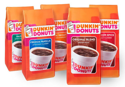 Dunkin' brand bagged coffee, Smucker
