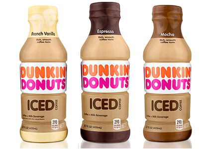 Dunkin' Donuts Iced Coffee, Coca-Cola