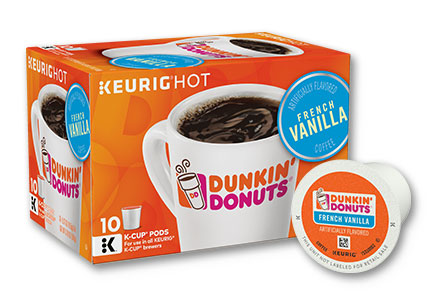 Dunkin' Donuts French Vanilla K-Cups, Smucker