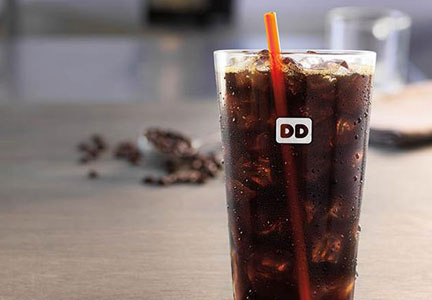 Dunkin' Cold brew coffee