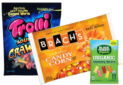 Ferrara Candy Co. brands - Trolli, Brach's, Black Forest Organic