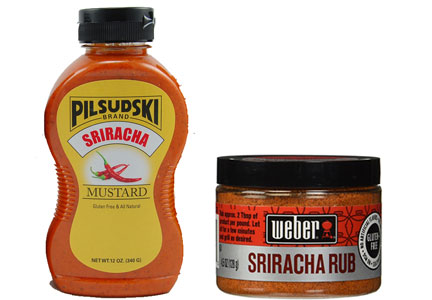 Sriracha flavored products
