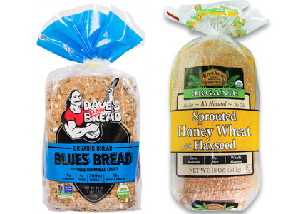 Flowers Foods organic breads, Dave's Killer Bread, Alpine Valley Bread
