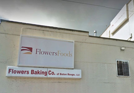 Flowers Foods Baton Rouge plant