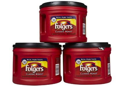 Folgers coffee canisters