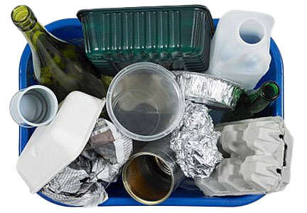 Recycling food packaging