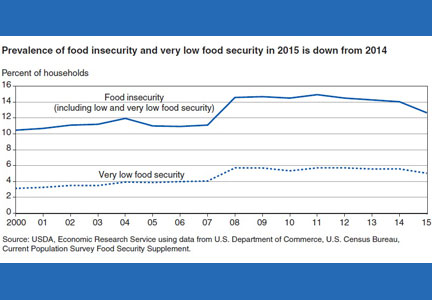 Food security chart