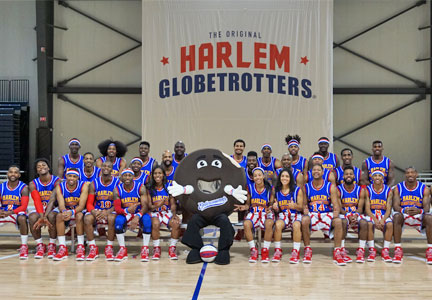 Entenmann's Harlem Globetrotters partnership