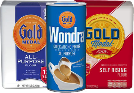 General Mills flour recall - Gold Medal, Wondra, Signature Kitchen